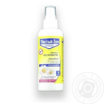 Средство от комаров Чистый Дом репеллентное с запахом ромашки 100мл