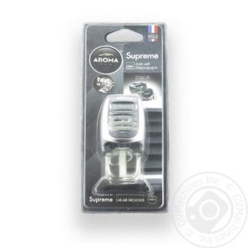 Ароматизатор повітря AromaCar авто Black 8мл Art.92050 х6