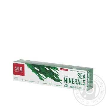 Зубная паста Splat special Морские минералы 75мл - купить, цены на Novus - фото 1