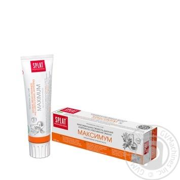 Toothpaste Splat 100ml - buy, prices for Novus - image 1