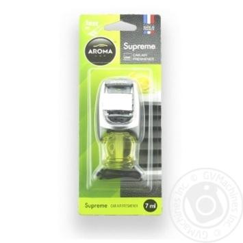 Ароматизатор Aroma Car Supreme Лимон 7мл - купити, ціни на МегаМаркет - фото 1