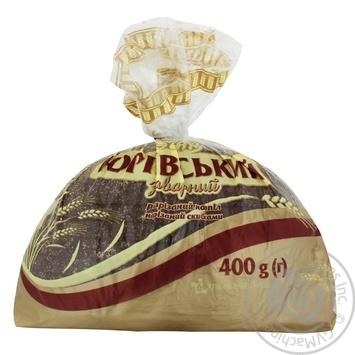Хлеб Царь Хлеб Юрьевский заварной половинка нарезка 400г