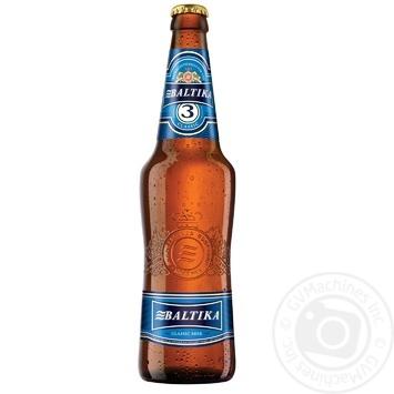 Пиво Балтика 3 светлое 4.8% 500мл