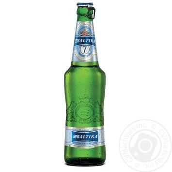 Пиво Балтика премиум светлое 0,5л