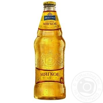 Пиво Балтика Разливное Мягкое светлое 4,4% 0,44л - купить, цены на Фуршет - фото 1