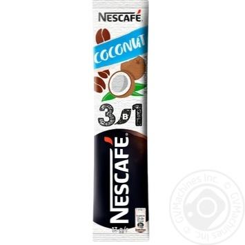 Напиток кофейный Nescafe 3в1 Coconut mix растворимый в стиках 13г