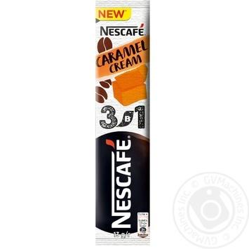 NESCAFÉ® 3-in-1 Caramel Cream instant coffee drink stick 13g - buy, prices for MegaMarket - image 1