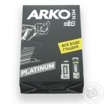 Набір  Arko Men Гель д/гоління 200мл + Гель д/душу 250мл