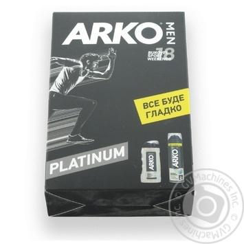 Набір  Arko Men Гель д/гоління 200мл + Гель д/душу 250мл - купити, ціни на МегаМаркет - фото 1