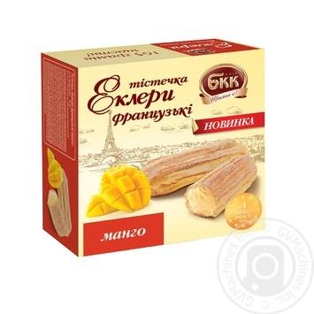 Пирожные БКК Эклеры Французские манго 165г - купить, цены на МегаМаркет - фото 1