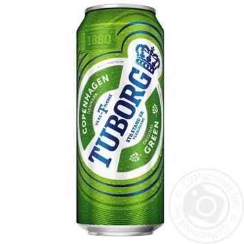 Пиво Green Light светлое 4,6% 0,5л - купить, цены на Novus - фото 1