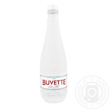 Вода Buvette Lux Still минеральная негазированная 0,75л