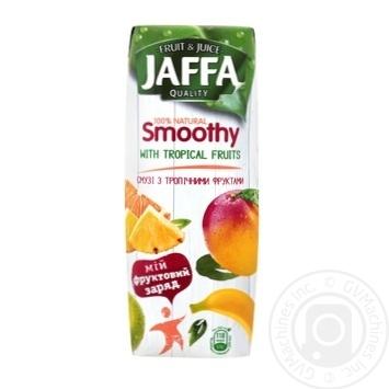 Смузі Jaffa Тропічні фрукти 250мл - купити, ціни на Novus - фото 1