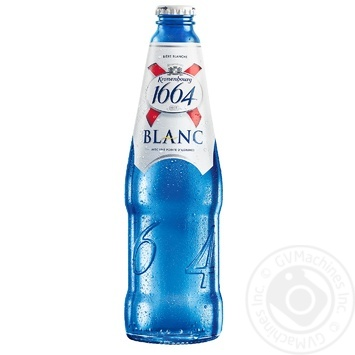 Kronenbourg 1664 Blanc light non-filtered beer 4,8% 0,46l