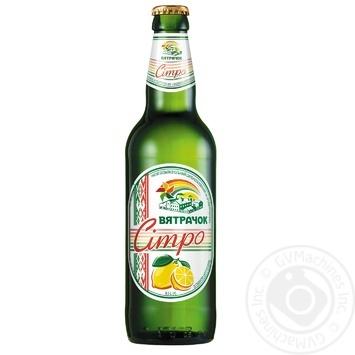 Напиток Вятрачок Ситро безалкогольный сильногазированный ароматизаторах 0,5л