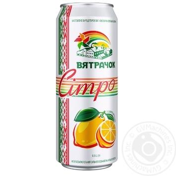 Viatrachok Sitro carbonated lemonade can 0,5l