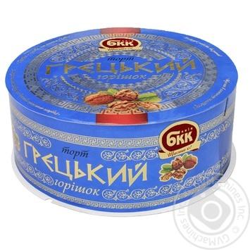 Торт БКК Греческий орешек 850г - купить, цены на Novus - фото 1