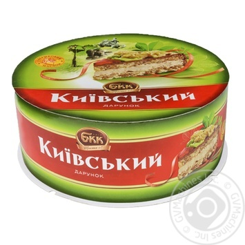 BKK Kyyivsʹkyy darunok with nuts cake 450g - buy, prices for Tavria V - image 1