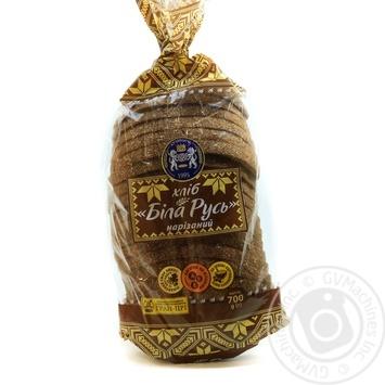 Хлеб Кулиничи Белая Русь заварной ржаной нарезанный 700г