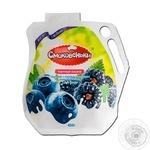 Йогурт Смаковеньки чорниця-ожина 1,5% 480г - купить, цены на Ашан - фото 1