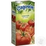 Сок Садочок томатный с солью 1,93л