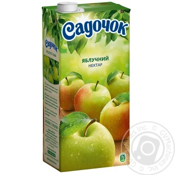 Скидка на Нектар Садочок яблочный 1,93л