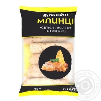 Млинці SmaСom жульен з куркою та грибами 350г - купити, ціни на ЕКО Маркет - фото 1