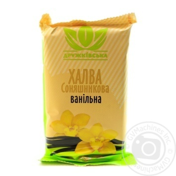 Druzhkivska Vanilla Sunflower Halva 300g - buy, prices for Novus - image 1