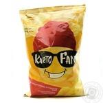 Чипсы картофельные KartoFan со вкусом сыра 130г