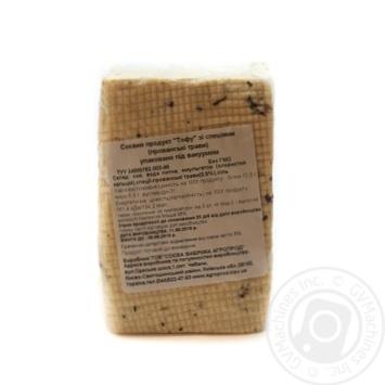 Продукт соєвий Тофу зі спеціями прованські трави Соєва фабрика Агропрод вакуум ваг - купить, цены на Novus - фото 1