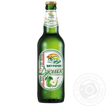 Напиток Вятрачок Дюшэс безалкогольный сильногазированный на ароматизаторах 0,5л - купить, цены на Фуршет - фото 1
