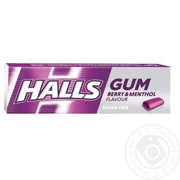 Жувальна гумкa Halls pі смаком ментолу та чорної смородини 14г - купити, ціни на CітіМаркет - фото 1