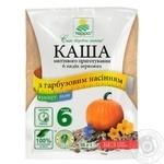 Каша Терра 6 видов зерновых со льном, кунжутом и тыквенными семечками моментального приготовления 38г