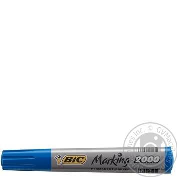 Маркер BIC 2000 перманентный - купить, цены на Ашан - фото 1