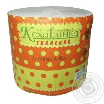 Бумага туалетная Кохавинка 1шт