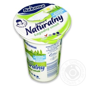Йогурт Bakoma натуральный без сахара 1,5% 150г