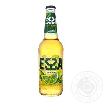 Пиво Essa Lime&Mint светлое 6,5% 0,45л - купить, цены на Фуршет - фото 1