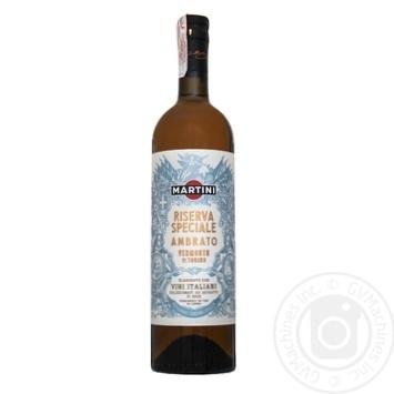 Вермут Martini Riserva Speciale Ambrato белый сладкий 18% 0,75л - купить, цены на Novus - фото 2