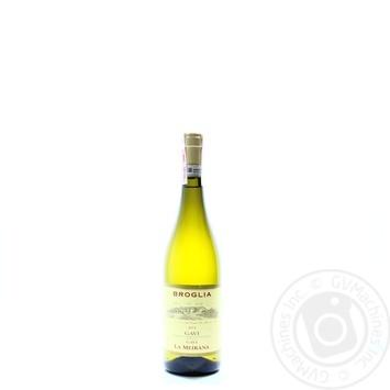 Вино Broglia Gavi La Meirana біле сухе 13% 0,75л - купити, ціни на CітіМаркет - фото 1