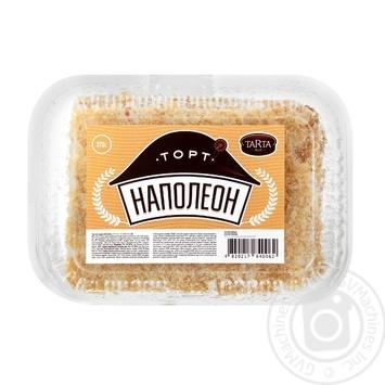 Торт Tarta Наполеон слоеный 370г - купить, цены на Таврия В - фото 1