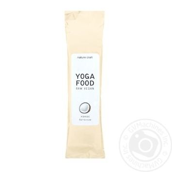 Candy bar Yogafood with coconut flavor 40g - buy, prices for MegaMarket - image 1