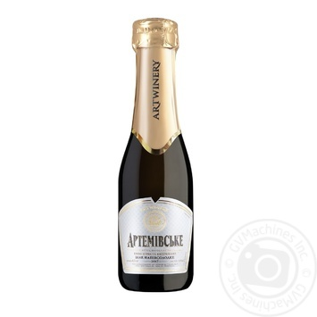 Artwinery Artemivsʹke Sparkling wine white semi-sweet 10-13,5% 0,2l - buy, prices for Novus - image 1