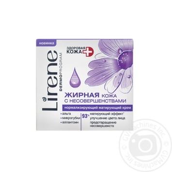 Cream Lirene oily and combination skin type 50ml