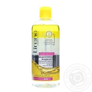 Міцелярна рідина для демакіяжу з живильною олією Lirene, 400 мл