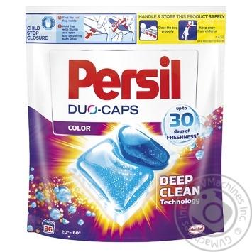 Дуо-капсулы для стирки Persil Color 36шт - купить, цены на МегаМаркет - фото 1