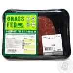 Стейк з витриманої яловичини Top Side газ ваг