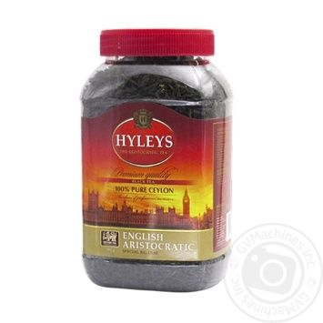 Hyleys English Aristocratic Black Tea - buy, prices for Novus - image 1