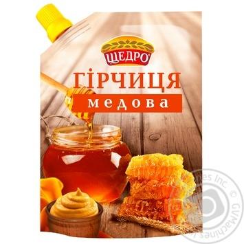 Горчица Щедро Медовая 120г
