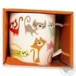 Чашка Keramia Цветные коты 415мл