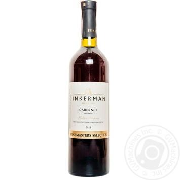 Вино Inkerman Cabernet красное сухое 14% 0,75л - купить, цены на Novus - фото 1